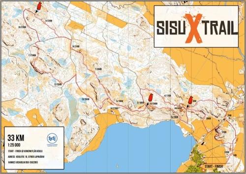 SisuXtrail 33 km
